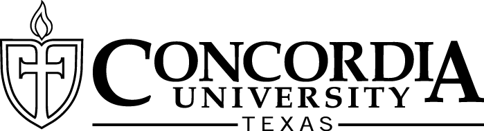 Concordia University Texas - BW Logo