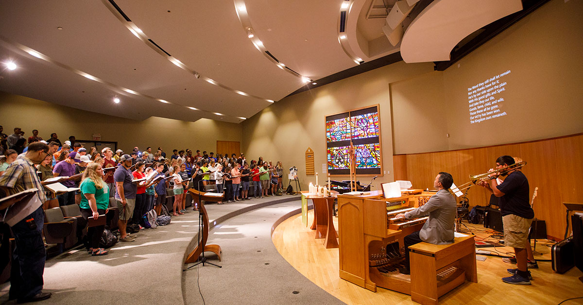 Daily chapel at CTX