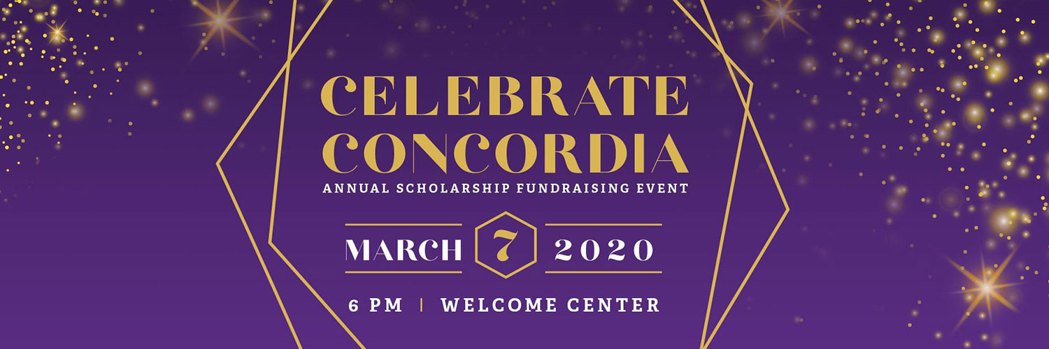Celebrate Concordia Event on March 7th 6PM