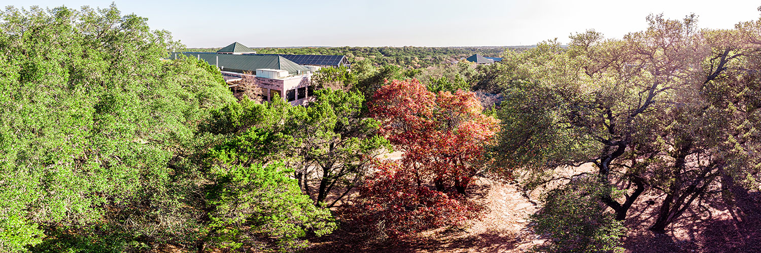 aerial view of CTX campus