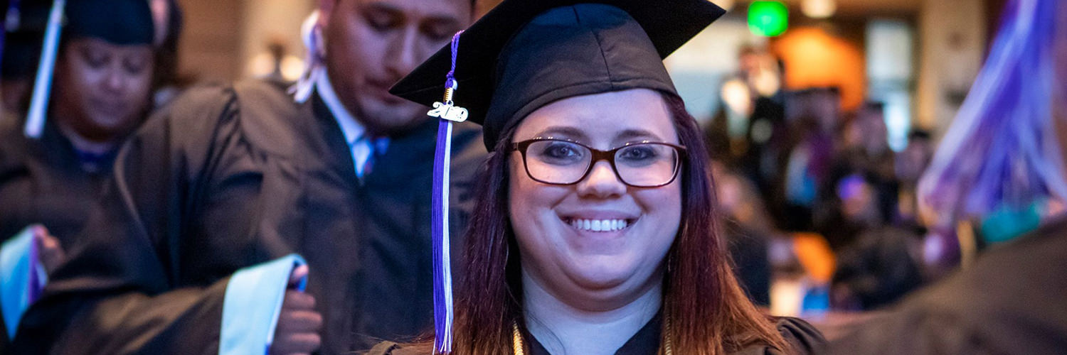CTX Graduate at Commencement