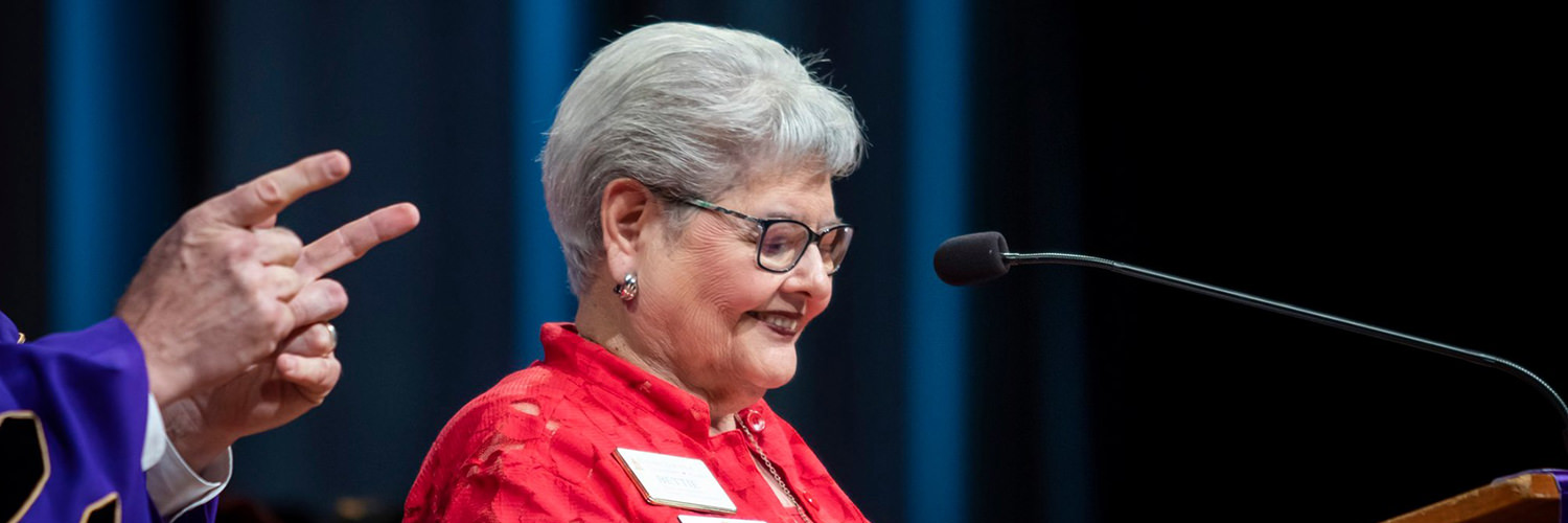 Betty Horn Bendewald Speaking at CTX 2019 Spring Commencement