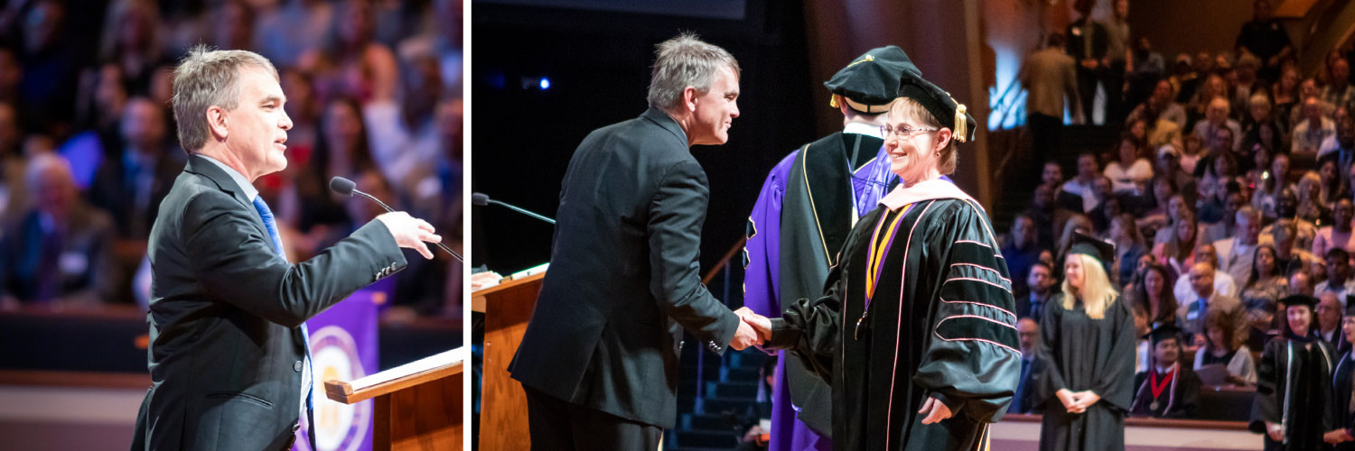 Dr. Stephen Strakowski at CTX Spring 2019 Commencement