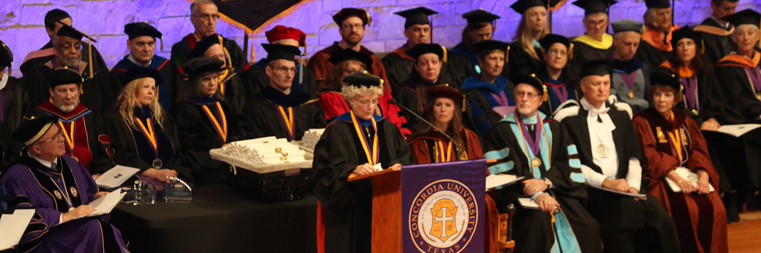 Concordia Doctoral Degree Gown