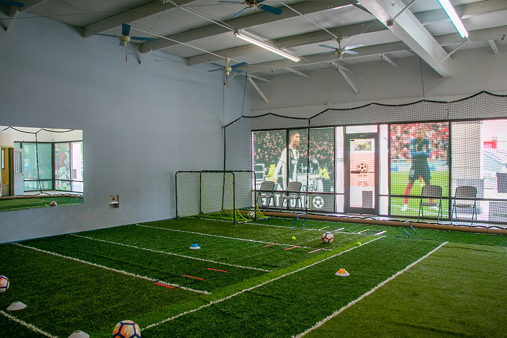 Inside First Touch Soccer Academy
