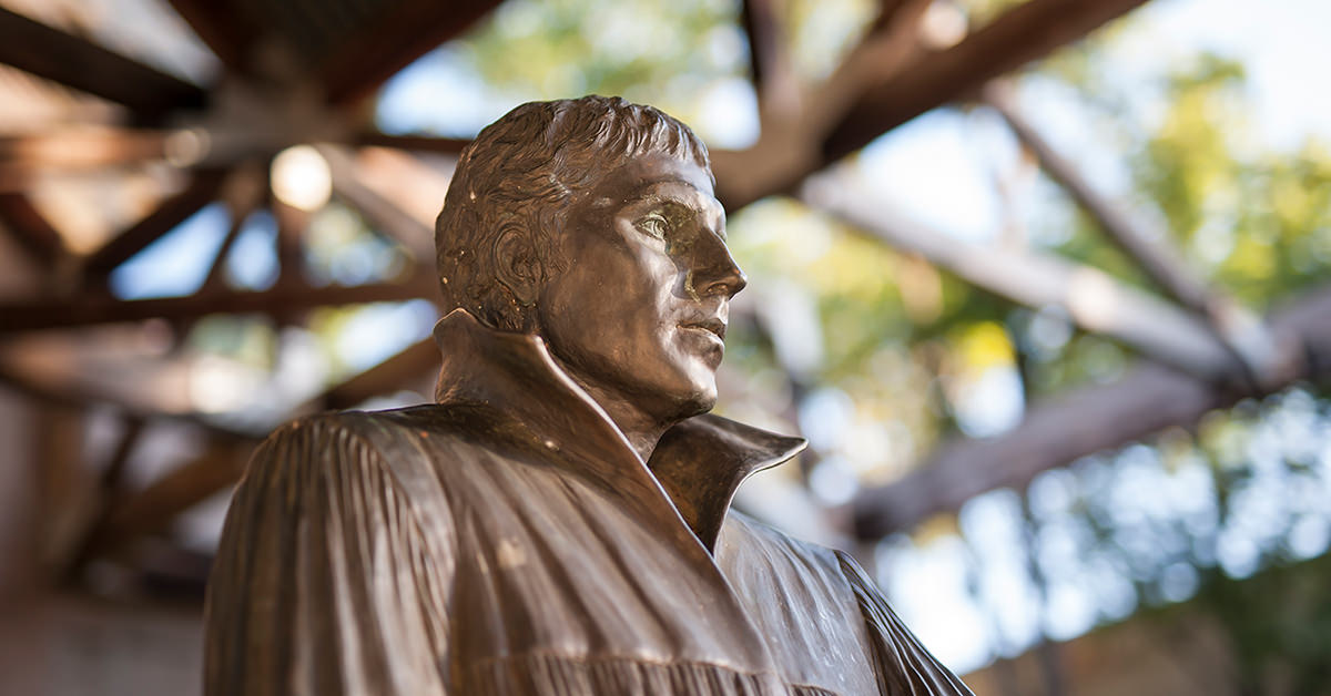 Luther Statue at CTX