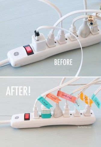 Label your cords